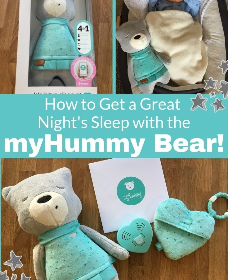 How to Get a Great Night's Sleep with the myHummy Bear! by me and b make tea